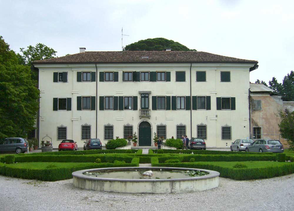 Restauro Villa Tartagna 1